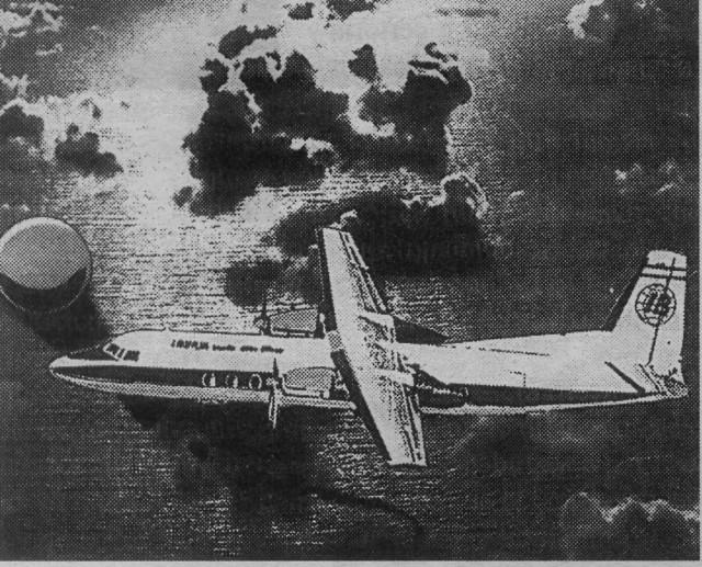 Imagen reproducida por Diario de Avisos el 15-9-2002 (cortesía Diario de Avisos)