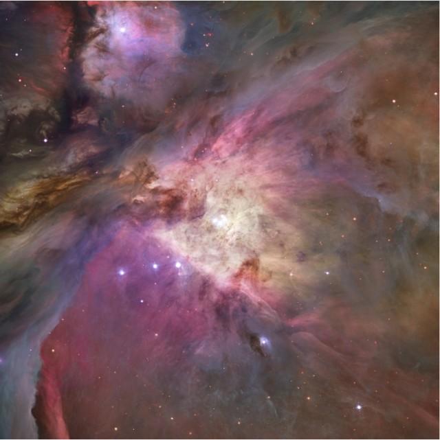 La nebulosa de Orión vista por el Hubble. Créditos: NASA, ESA, M. Robberto (STScI/ESA) et al.