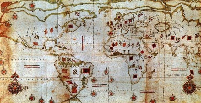Mapamundi 1583 Sebastiao Lopes