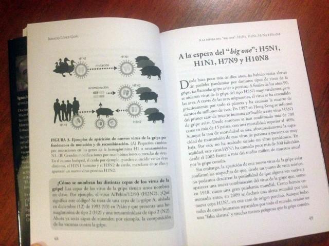 Virus y pandemias, primer libro del Sello Naukas escrito por Ignacio López-Goñi