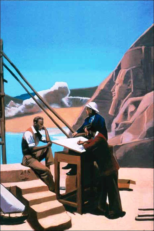 El proyecto (Ángel Mateo Charris, 2003) © Fundación MAXAM