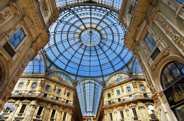 Galería Vittorio Emmanuele II (Milan).
