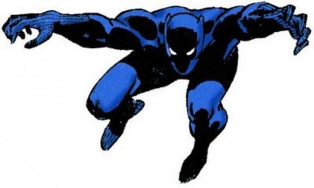 Diseño de Pantera Negra de los años 70. Fuente
