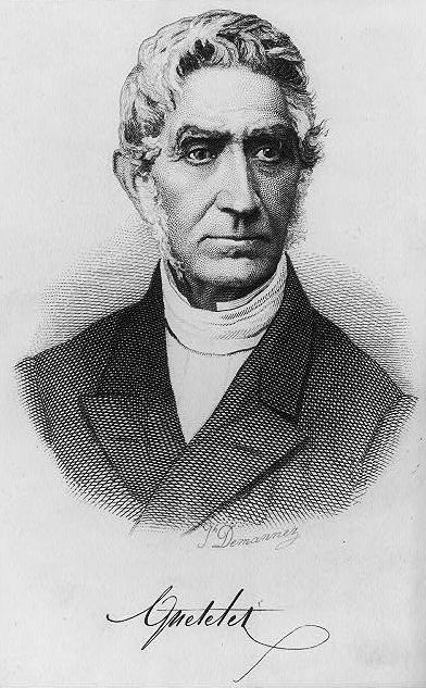 Adolphe Quetelet(1796-1874)