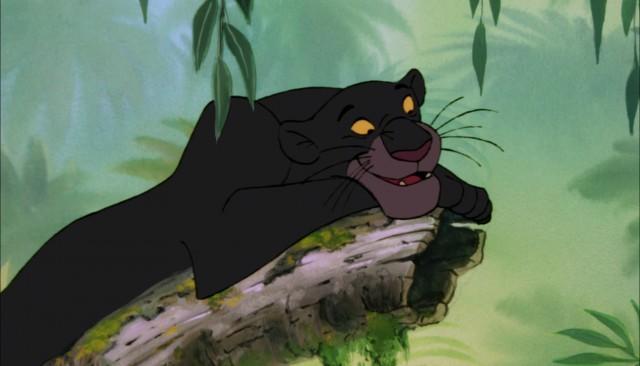 La Bagheera clásica de Disney. Fuente