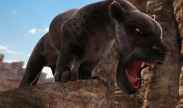 El leopardo melánico de Animals United. Fuente