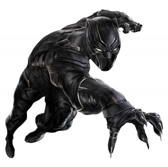 Pantera  Negra en su versión cinematográfica. Fuente