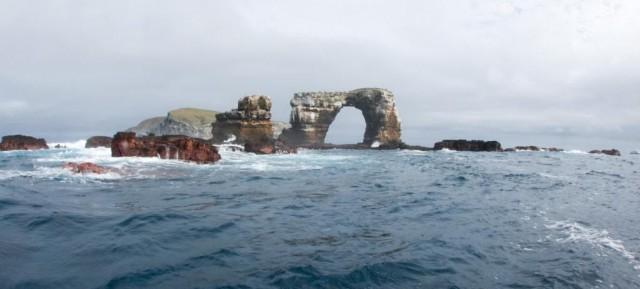 El Arco de Darwin,en la Isla Darwin