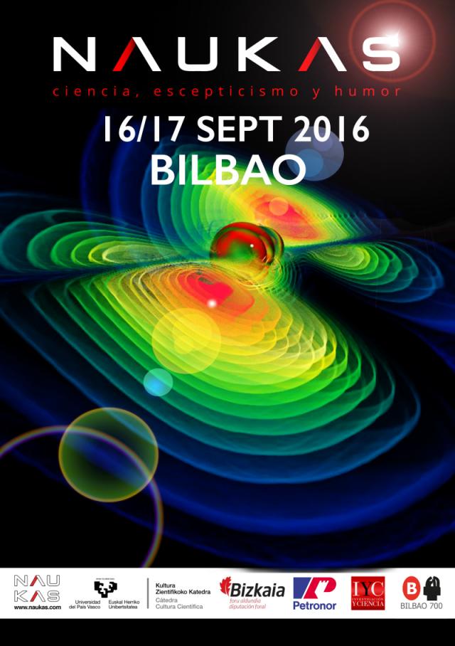Naukas Bilbao 2016, 16 y 17 de septiembre | Diseño Ilustramento
