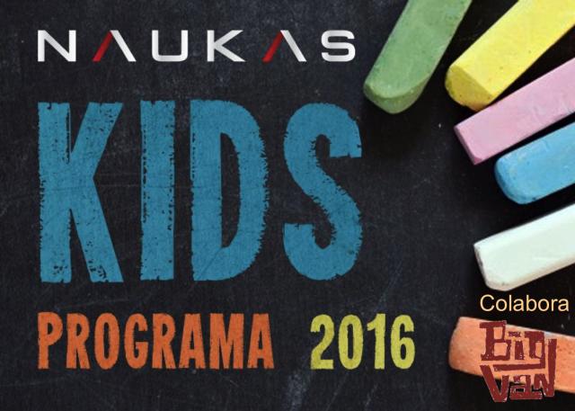 Programa de charlas para Naukas Kids 2016