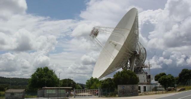 Radiotelescopio de NASA en Robledo de Chavela