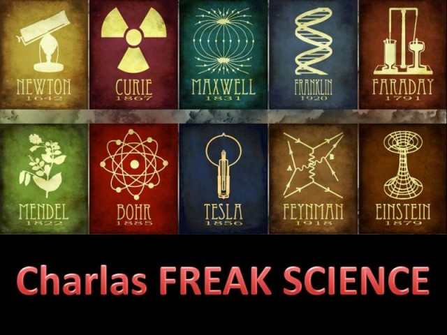 Charlas FREAK SCIENCE