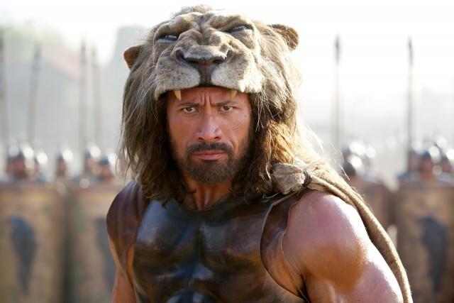 El actor The Rock, caracterizado como Hércules en su última película. Fuente
