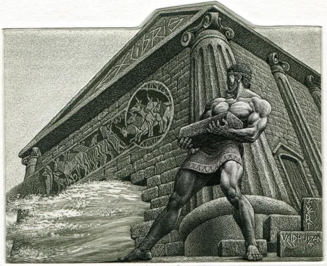 Hércules y los establos del rey Augías. Fuente