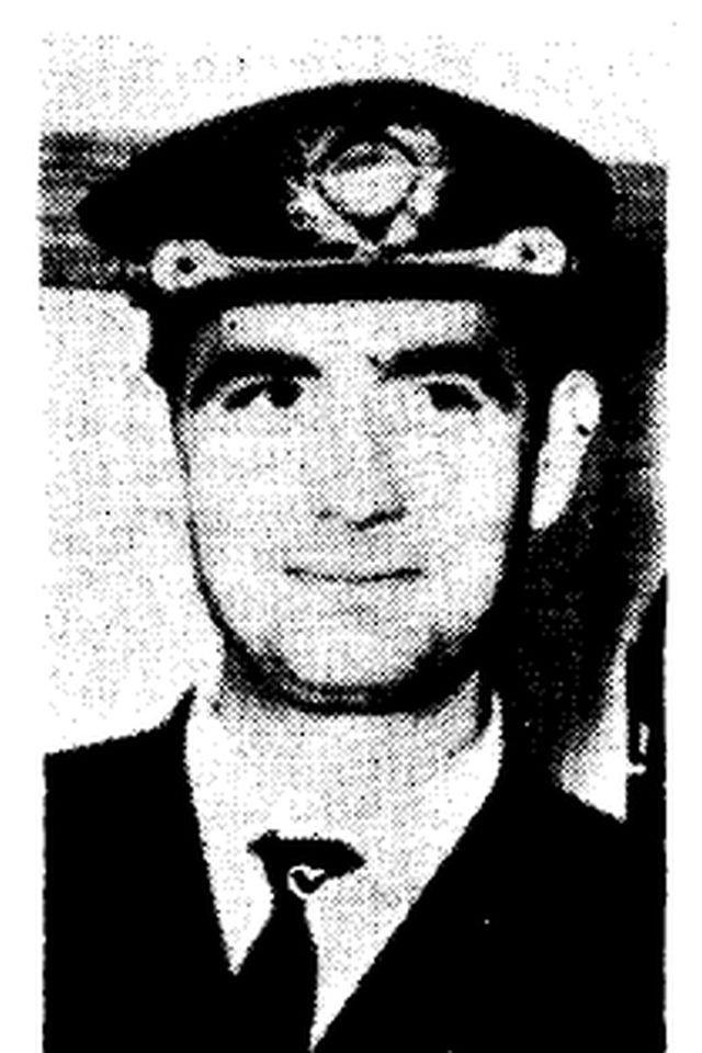 El comandante Andrés Ciudad Aldehuela en 1968 (El Eco de Canarias)