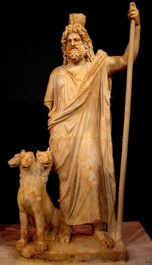 Hades y Cerbero. Fuente