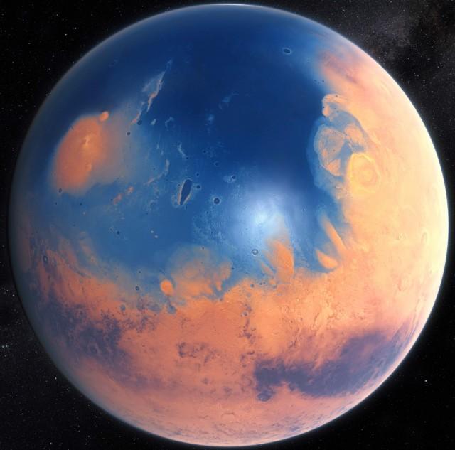 ¿La Tierra? No: Marte hace miles de millones de años