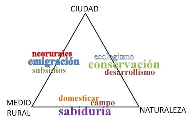 Ciudad - Medio Rural - Naturaleza