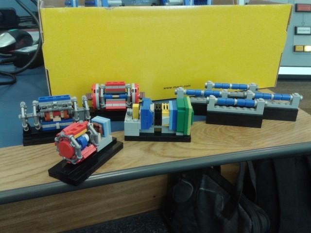 Modelos de detectores de partículas y dipolos del LHC | imagen Héctor García