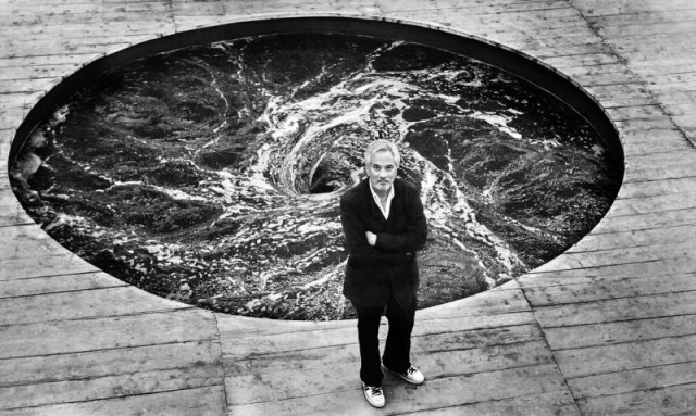 El escultor indio Anish Kapoor