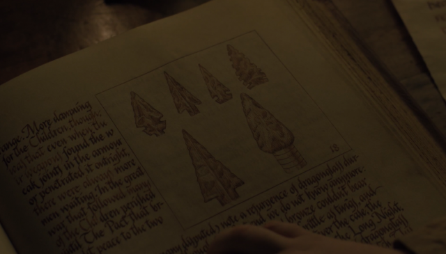 Armas de vidriagón de los Targaryen