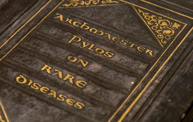 El libro de enfermedades raras del archimaestre Pylos
