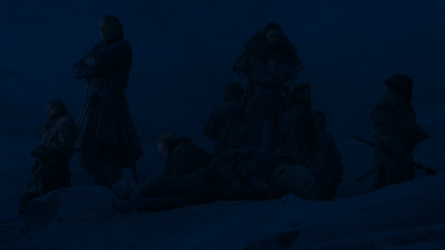 Durante la noche, Thoros de Myr aún estaba vivo