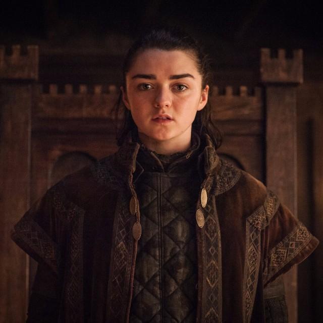 Arya vestida de Walder Frey. Fuente