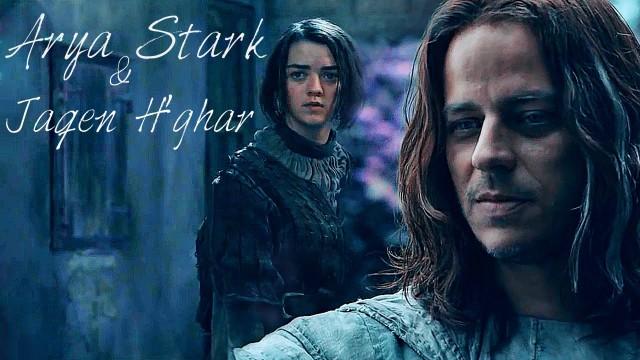 Arya y Jaqen. Fuente
