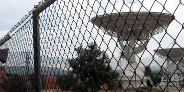 Antenas del CCS de Buitrago del Lozoya.