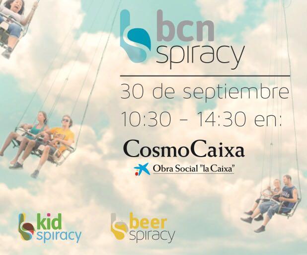 Todos los carteles, logos y baners de BCNspiracy han sido diseñados por María Perera