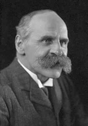John Scott Haldane.  Sus trabajos establecieron la conveniencia de  utilizar animales centinela en las minas. Fuente: Commons