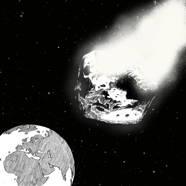 Catástrofe Ultravioleta 19: Asteroide