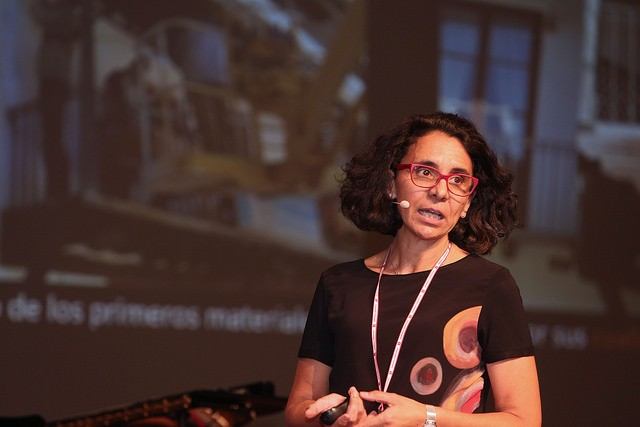 Gemma Ramón Cueto: La Arquitectura del futuro. Imagen UVa / Juan Carlos Barrena.