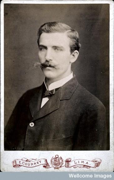 Henry Solomon Wellcome fotografiado en 1879 por E. Courret_Wellcome Library, London