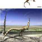 Un dinosaurio con antifaz