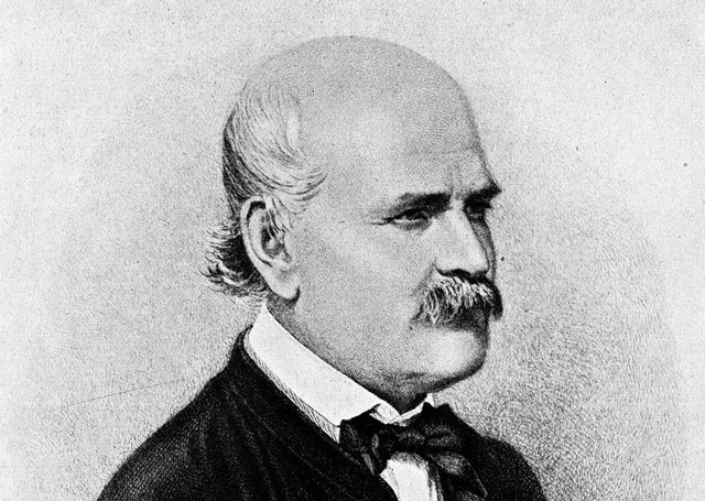 Grabado de Ignaz Semmelweis, de Eugen Doby. Dominio Público.