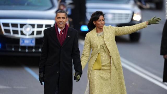 Obama tras la jura como 44 presidente de EE UU (20-01-2009