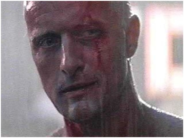El replicante Roy Batty en Blade Runner