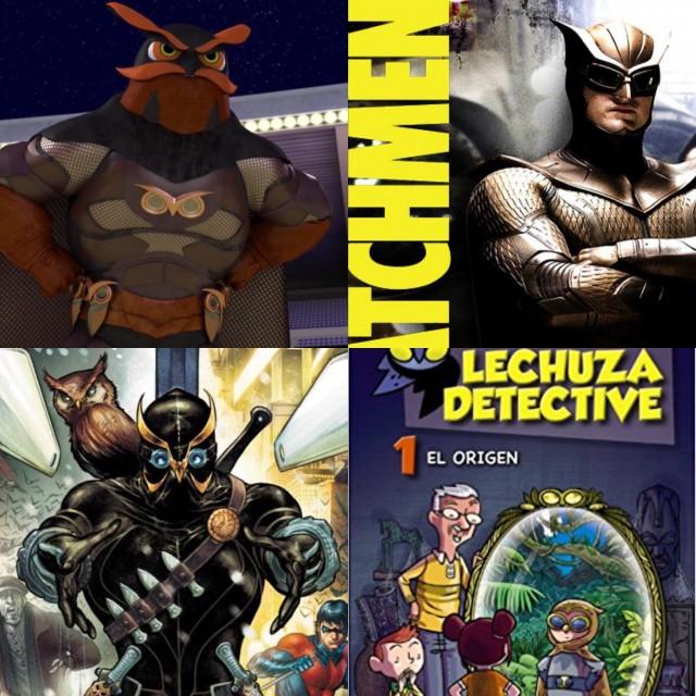 1. Dark Owl. 2. Búho Nocturno. 3. The Owl. 4. Lechuza Detective