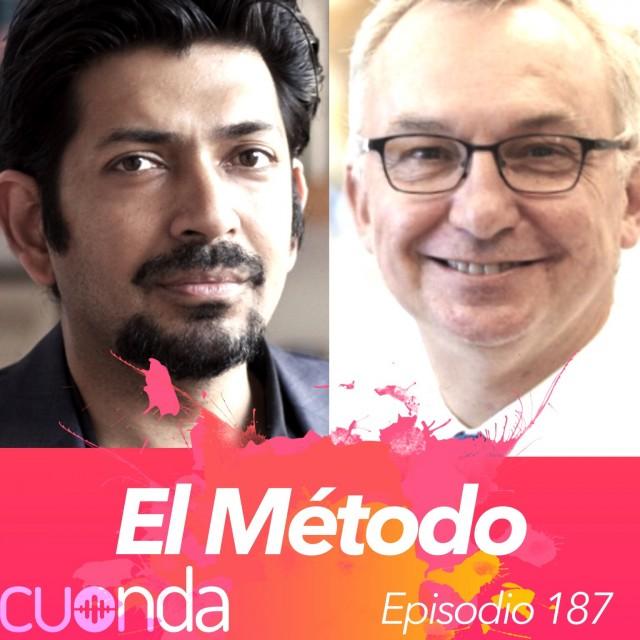 Siddhartha Mukherjee y Josep Baselga en El Método