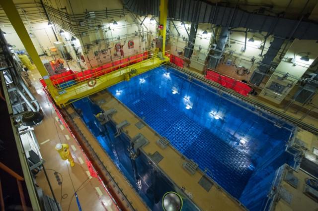 Piscina de Combustible Usado de una de las unidades de la Central Nuclear de Almaraz (CNAT)