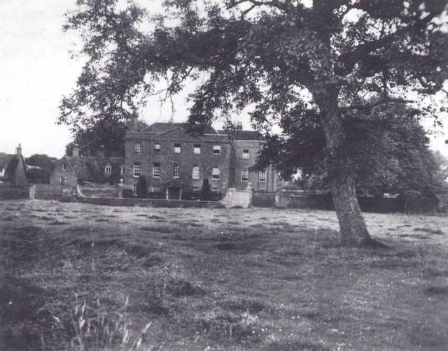 Casa de Farm Hall donde fueron internados los científicos alemanes
