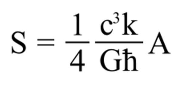 Es a Hawking lo que el E = m c2 a Einstein