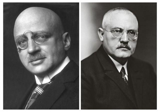 Fritz Haber y Carl Bosch