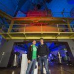 Descubriendo supernovas en la tele australiana
