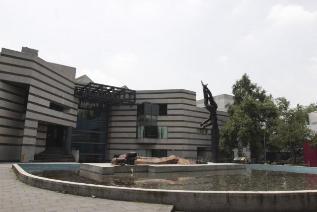 Conjunto Amoxcalli de la Facultad de Ciencias de la UNAM. Foto de archivo, Página de la carrera de actuaría, Facultad de Ciencias, UNAM