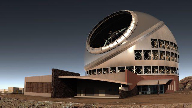 Otra recreación del imponente aspecto del TMT, una vez finalizada su construcción. Fuente: TMT