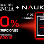 Oferta especial de Investigación y Ciencia para Naukas Bilbao 2018