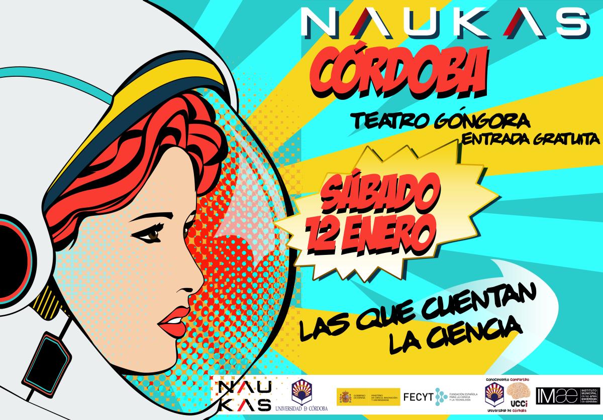Os presentamos el programa provisional de Naukas Córdoba 2019